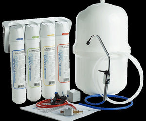 4 Stage Quick and Easy Change Reverse Osmosis Complete System - 2Ground
