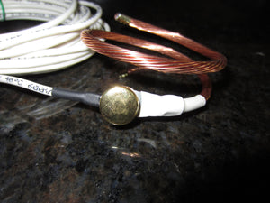 Wire Rope - Pure, Solid Copper, 6AWG Personal Grounding Device - 2Ground
