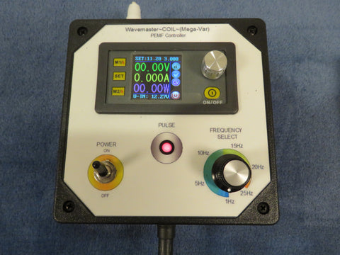 ***NEW, August 9, 2017*** Wavemaster ~COIL~ (Mega-VAR) - A Complete PEMF Therapy System