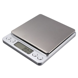 500g x 0.01g Mini Digital Scale Jewelry Weighting Kitchen Scale Electronic and LCD Display g/ oz/ ct/ gn Precision with 2 trays FREE SHIPPING - 2Ground
