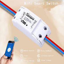 Itead Sonoff Smart Home Remote Control Wireless Switch Universal Module Timer Wifi Switch Smart Home Controller Via IOS Android FREE SHIPPING - 2Ground