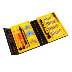Kaisi 38 in 1 Precision Screwdrivers Kit Opening Repair Phone Tools Set for iPhone 4 / 4s / 5 iPad Samsung - 2Ground