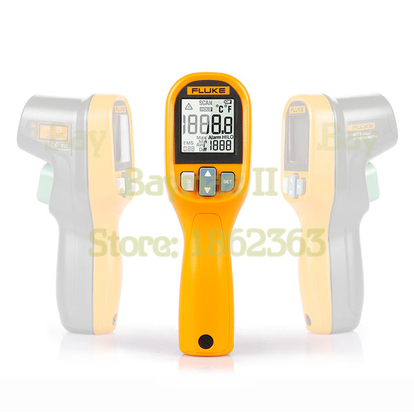 Fluke MT4 MAX IP40 Waterproof Infrared Thermometer -30-350C(-22~752F) with LCD Backlit and High/Low Temperature Alarm - 2Ground