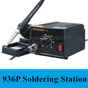New 936 anti-static Adjustable thermostat 110V/220V electric iron soldering welding station soldering iron - 2Ground