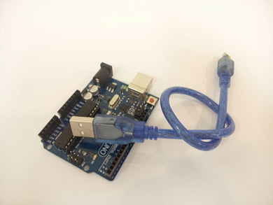 UNO R3 board MEGA328P 100% Original (With Logo) +  1PCS USB Cable For Arduino FREE SHIPPING! - 2Ground