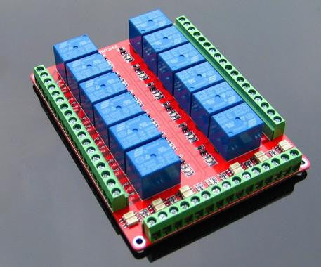 12 Channel Relay Module without light coupling 5v 12v 24v for Arduino FREE SHIPPING! - 2Ground