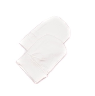 Bamboo Cotton Infant Gloves - White