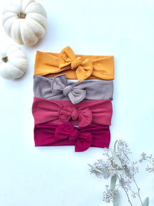 Autumn Knotted Baby Headwrap Headband