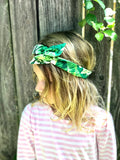 Summer Palm Boho Women's Headband, Baby Headband