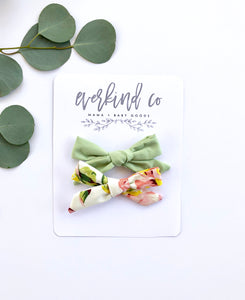 Happy Day Floral Bow Headband Set