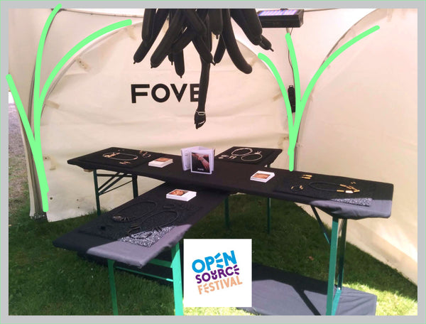 FOVE at Open Source Festival, Düsseldorf