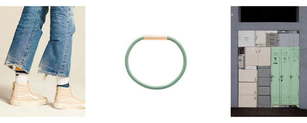 FOVE metallics bracelet mood green