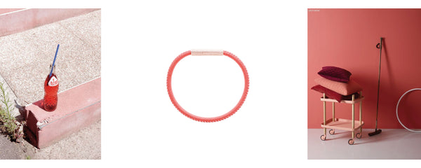 FOVE metallics bracelet mood red