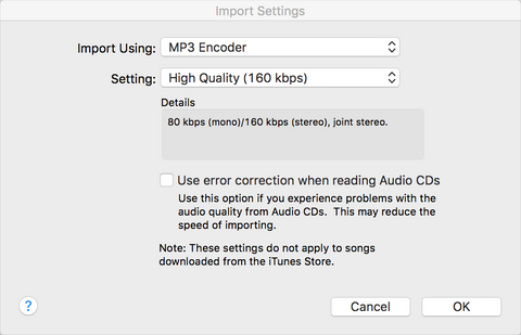 convert to MP3 in iTunes