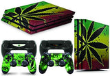 giZmoZ n gadgetZ PS4 PRO Console COLOUR EXPLOSION Skin Decal Vinal Sticker + 2 Controller Skins Set