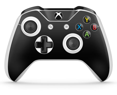 GNG 2 x Black Compatible with Xbox One S Controller Skins Full Wrap Vinyl Sticker