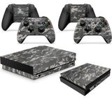 GNG DIGITAL CAMO Skins for Xbox One X XBX Console Decal Vinal Sticker + 2 Controller Set