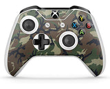 GNG 2 x Camouflage Compatible with Xbox One S Controller Skins Full Wrap Vinyl Sticker