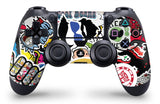 giZmoZ n gadgetZ PS4 PRO Console STICKERBOMB Skin Decal Vinal Sticker + 2 Controller Skins Set