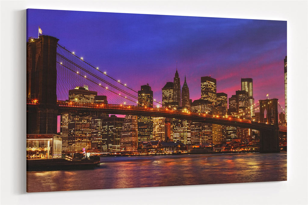 A3 30x45cm Canvas Wall Art of New York for your Living Room Canvas Prints - Pictures