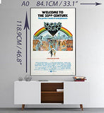 Classic 70s Movie Poster Photo Print Film Cinema Wall Decor Fan Art A0 A1 A2 A3 A4