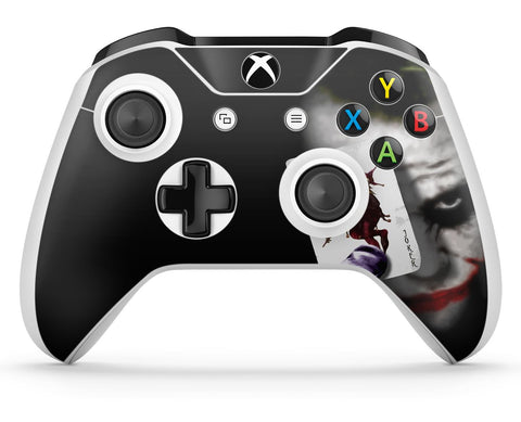 GNG 2 x Joker Compatible with Xbox One S Controller Skins Full Wrap Vinyl Sticker