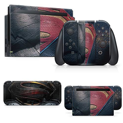 giZmoZ n gadgetZ Hero's Vs Skin Decal vinyl Sticker Compatible with Nintendo Switch Console + 1 Controller Skins Set
