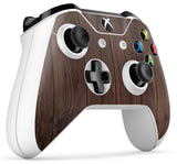 GNG 2 x WOOD Compatible with Xbox One S Controller Skins Mahogany Full Wrap Vinyl Sticker