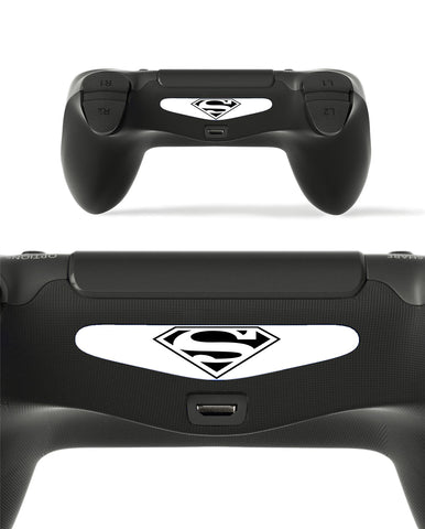 GnG 2x LED Hero Light Bar Decal Sticker For PlayStation 4 / Slim / Pro PS4 Controller DualShock 4