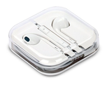 White Boxed In-Ear Earphones / Headphones with Remote Mic & Volume Control compatible with iPhone 4 5 6, iPad, Sony, Samsung