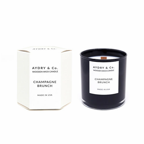 Champagne Brunch - Wooden Wick Scented Candle