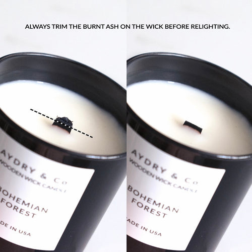 Shooting Star - Wooden Wick Scented Candle