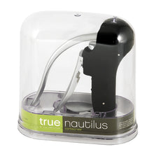 Load image into Gallery viewer, Nautilus Easy Lever Corkscrew Gift Set In Black by True