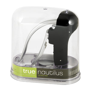 Nautilus Easy Lever Corkscrew Gift Set In Black by True