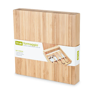 Formaggio™: Bamboo Cheese Board & Tool Set