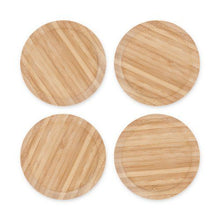 Load image into Gallery viewer, Topper Bamboo Appetizer Glass Toppers by True