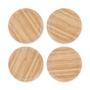 Topper Bamboo Appetizer Glass Toppers by True