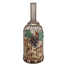 Load image into Gallery viewer, Grapevine Bottle Cork Holder by Twine