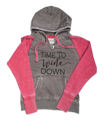 "Woman's""Time To Wine Down ""Sweatshirt"