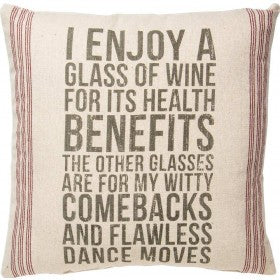 Pillow - Glass Of Wine