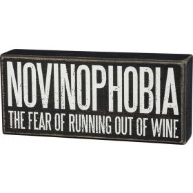 Box Sign - Novinophobia