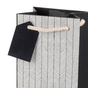 Assorted Herringbone Wine Bags