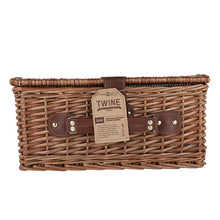 Load image into Gallery viewer, Seaside Newport Wicker Picnic Basket by Twine