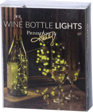 Load image into Gallery viewer, Wine Bottle Lights - Multicolored Twinkle Lights or