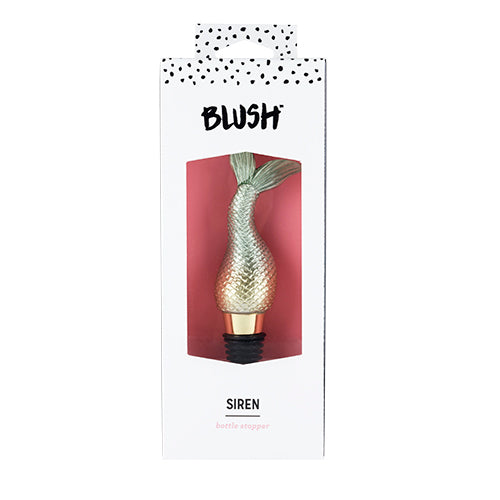 Siren Bottle Stopper by Blush