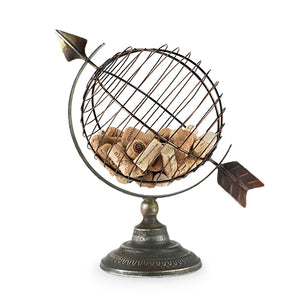 Chateau Old World Globe Cork Display by Twine
