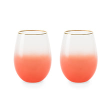 Load image into Gallery viewer, Mariposa Stemless Wine Glasses by Blush®