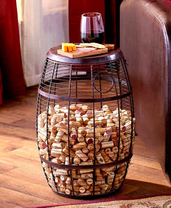 Cork Holder Accent Tables