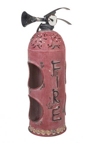 Fire Extinguisher Double Wine Bottle Holder