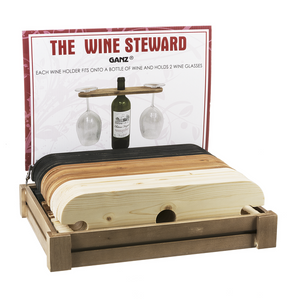 The Wine Steward - 2 Wine Glass Holders